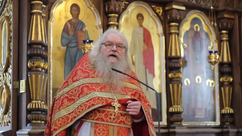 Проповедь в Праздник перенесения мощей Свт Николая