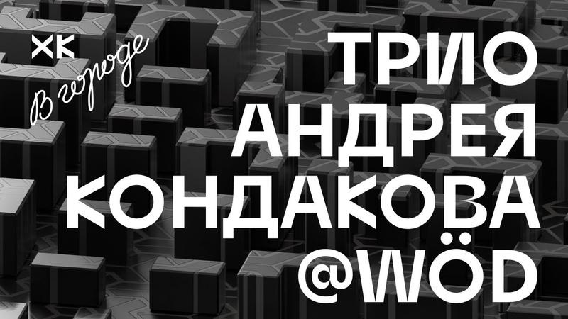 Хот Культур в городе Трио Андрея Кондакова Live @WöD