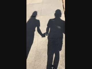 Личное видео из инстаграм-истории Спенсера (31/10/18)