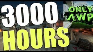 What 3000+ Hours of CS:GO looks like