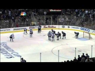 Slava Voynov laser slapshot goal 1-0 May 14 2013 San Jose Sharks vs LA Kings NHL Hockey