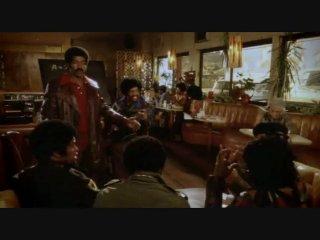 Black Dynamite — Restaurant Scene
