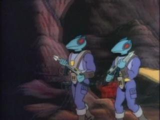 Dino Riders Наездники динозавров s1e1