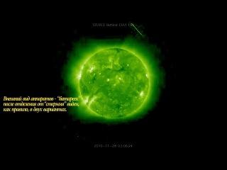 Гигантские НЛО у Солнца 2011 HDTVRip Смотреть имеет смысл до конца нето раньше времени рукой махнете мол чуш