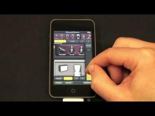 С помощью AmpliTube iRig, Вы сможете подключить гитару в iPhone/iPod /iPad и начать импровизировать с профессиональным музыкальным мобильным софтом.