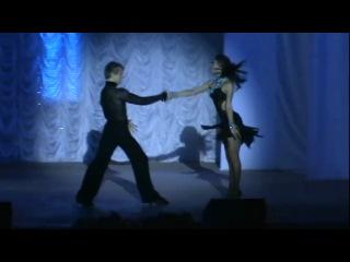 Споривные бальные танцы Рубма танец любви