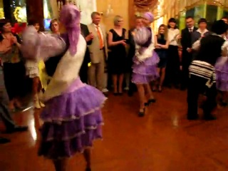 Еврейский народный танец 7-40. Одесса ресторан Валдай