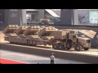 Новая арабо-турецкая мега-РСЗО MCL (Multiple Cradle Launchers, она же Jobaria)