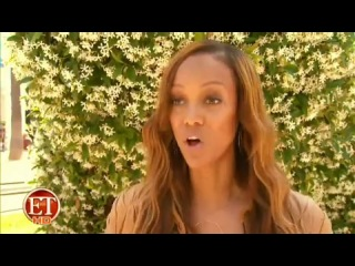 2012 | tyra banks on et talks about tyler perry and his role in cycle 19