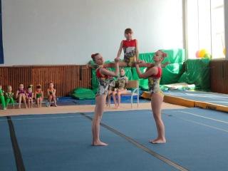 Областные соревнования по акробатике 1 юношеский разряд.