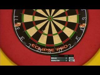 Brendan Dolan vs Andy Hamilton (Players Championship Finals 2013 / Round 2)