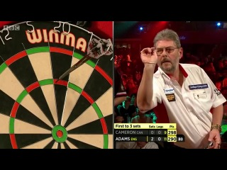 Martin Adams vs David Cameron (BDO World Darts Championship 2014 / Preliminary Round)