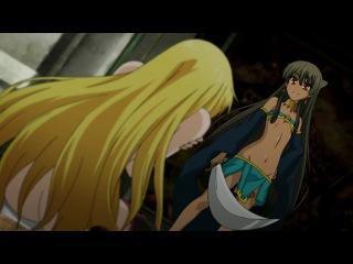 Академия Драконьих Наездников  Seikoku no Dragonar - 6 серия Simbad & Holly