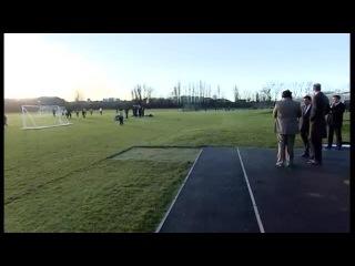 Уильям открыл спортивный комплекс Holford Drive Sports Hub 12 12 2014