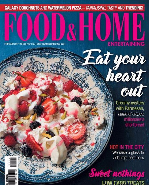 Food Home Entertaining February 2017