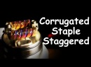 Corrugated Staple Staggered Fused Clapton. Подробная инструкция || Full Tutorial