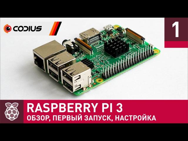 Raspberry Pi 3: обзор, первое включение, настройка – Часть 1
