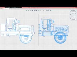 Renga Architecture - Тяжелая модель из КОМПАС-3D