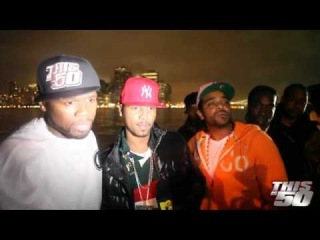 50 Cent Interview with Juelz Santana and Jim Jones at the Thisis50 Festival