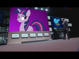 What if My Little Pony was at the E3 2012 ?