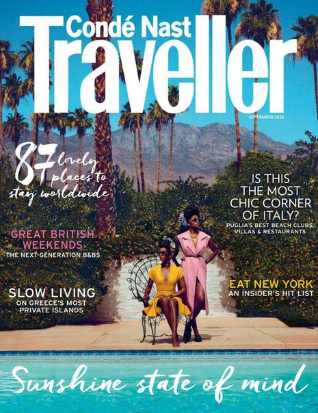 Conde Nast Traveller - September 2015 UK