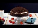 Торт Норка крота с клубникой
