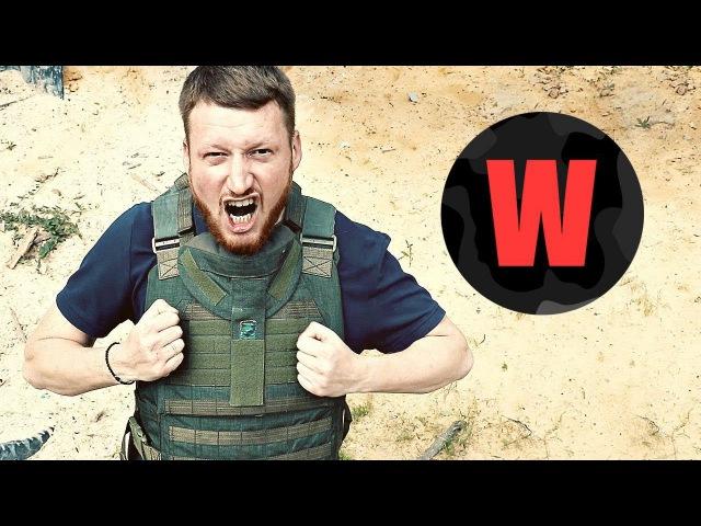 Испытания пистолета Оплот с главой ДНР Проект WarGonzo 1