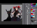 Redjuice Live Painting in MANSAI SUB Tutorial Tips for illustration 3 3