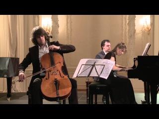Aleksander Ramm (cello), Anna Odintsova (piano) in Saint Petersburg Music House 2015 02 06