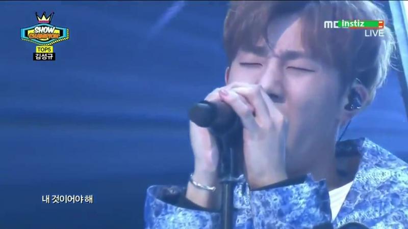 [VID]150520 Kim Sunggyu - The Answer @ MBC Show Chanpion