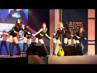 150526 #AOA - Mini Skirt @ Daegu University Festival