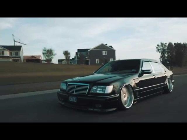 Mercedes Benz S500 W140 Stance Custom