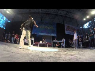 Niako Legion X vs Amal Rasulov  Hip Hop For Life vol.4 / Freestyle Session Turkey 2015