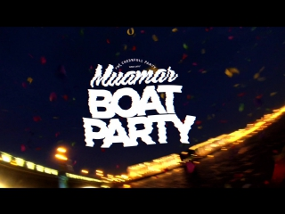 MUAMAR BOAT PARTY  / SEASON 2015 / LIVE