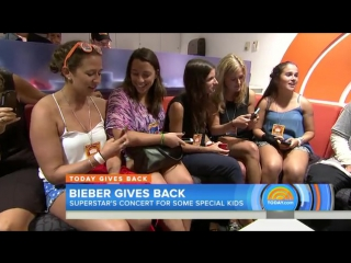 Justin Bieber sings for kids who lost loved ones on 9/11