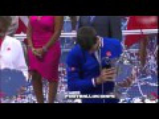 Novak Djokovic Wins The US Open 2015 vs Roger Federer • Full Ceremony HD