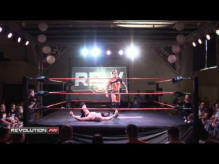 RevPro TV #21 feat: Kris Travis vs Marty Scurll