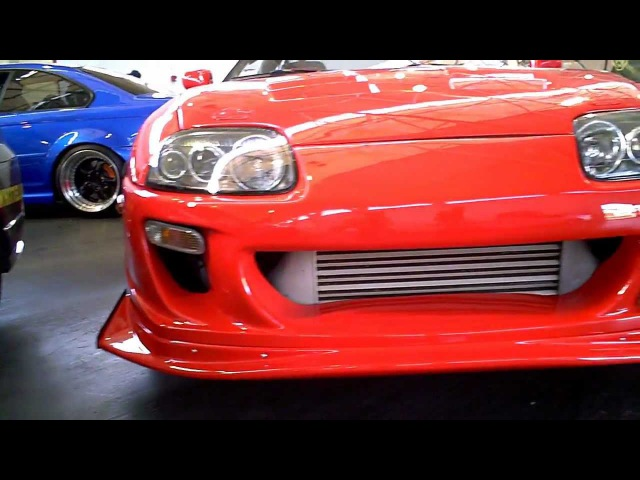 1995 Toyota Supra on LM20 CCW'sShine Auto Project Ridox aero and TRD Gen2 Catback (2012 SF Wekfest)