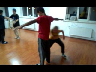 Hip hop training in Scream of Soul (Marty)