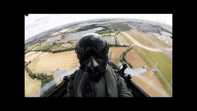 F A 18 Hornet soolo RIAT 2015