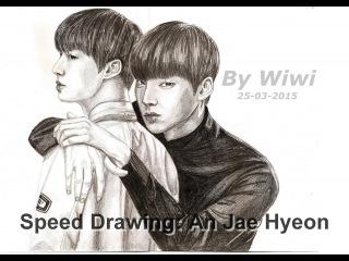 Speed Drawing: An Jae Hyeon (Blood Korean Drama - Park Ji Sang) K-Pop FanArt