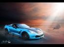 Digital Automotive Speed Art C7 ZO6 Corvette AtlantaCustomWraps