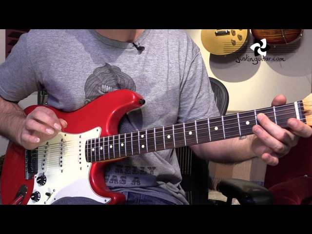 Mary Had A Little Lamb Stevie Ray Vaughan Guitar Lesson ST 343 SRV Blues Texas