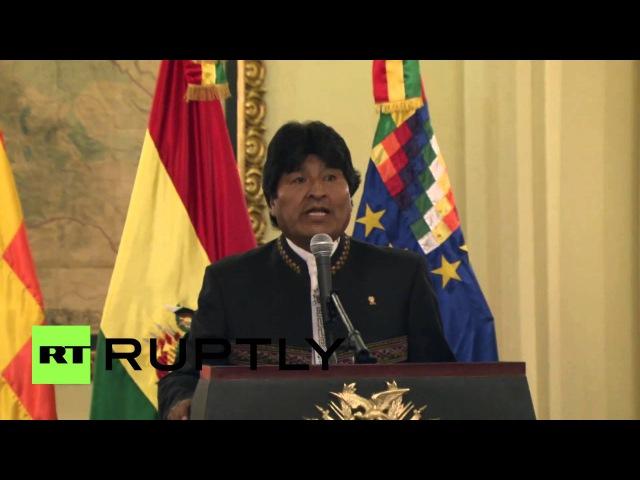 Боливия: Моралес родом решение ООН, чтобы услышать случай спора Тихий Океан.