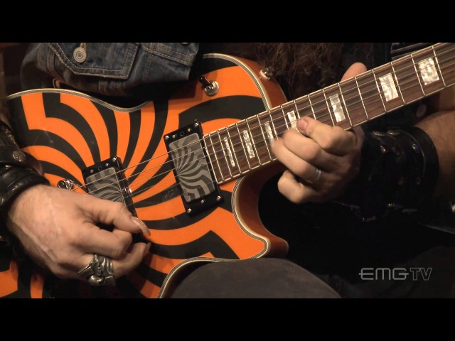 Zakk Wylde rips amazing guitar solo over Andy James track EMGtv