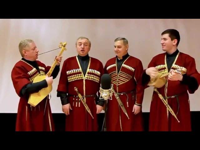 Ансамбль СУЛИКО (SULIKO ensemble) - Грузинская народная музыка, саламури (свирели).