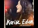 Karise Eden - Back to Black - cover
