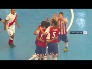 #CopaAmericafutsal -  Paraguay vs Per #GrupoB #Fecha2