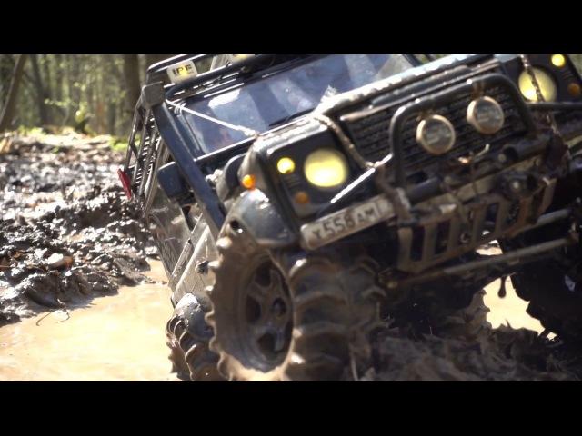 ЛЕНД РОВЕР НА АРОЧНЫХ КОЛЁСАХ Land Rover defender 90 WildBrit rc defender 110 HCPU