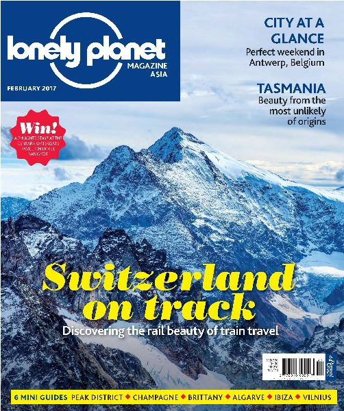 Lonely Planet Asia February 2017